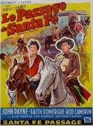 Santa Fe Passage - Belgian Movie Poster (xs thumbnail)