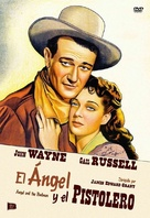 Angel and the Badman - Spanish DVD movie cover (xs thumbnail)