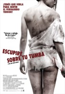 I Spit on Your Grave - Argentinian Movie Poster (xs thumbnail)