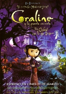 Coraline - Argentinian Movie Poster (xs thumbnail)