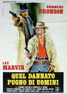 The Meanest Men in the West - Italian Movie Poster (xs thumbnail)