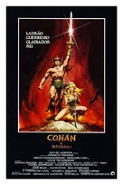 Conan The Barbarian - Brazilian Movie Poster (xs thumbnail)
