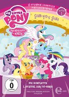 """""""My Little Pony: Friendship Is Magic"""" - German DVD movie cover (xs thumbnail)"""