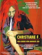 Christiane F. - German Movie Poster (xs thumbnail)