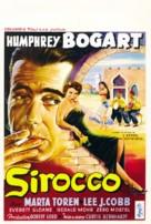 Sirocco - Belgian Movie Poster (xs thumbnail)