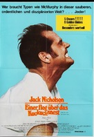 One Flew Over the Cuckoo's Nest - German Movie Poster (xs thumbnail)