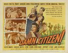 Damn Citizen - Movie Poster (xs thumbnail)