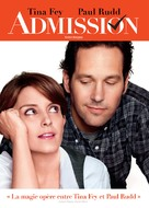 Admission - Canadian DVD movie cover (xs thumbnail)