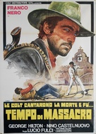 Tempo di massacro - Italian Movie Poster (xs thumbnail)