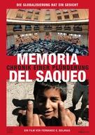 Memoria del saqueo - German poster (xs thumbnail)