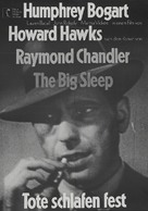 The Big Sleep - German Re-release movie poster (xs thumbnail)