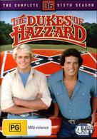"""The Dukes of Hazzard"" - Australian DVD movie cover (xs thumbnail)"
