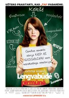 Easy A - Lithuanian Movie Poster (xs thumbnail)