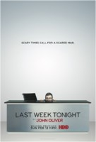 """""""Last Week Tonight with John Oliver"""" - Movie Poster (xs thumbnail)"""