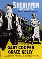 High Noon - Danish Movie Poster (xs thumbnail)