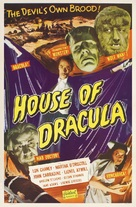 House of Dracula - Re-release poster (xs thumbnail)