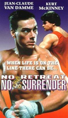 No Retreat, No Surrender - VHS cover (xs thumbnail)