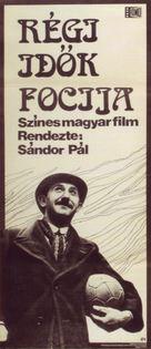 Régi idök focija - Hungarian Movie Poster (xs thumbnail)