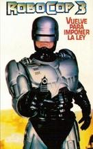 RoboCop 3 - Argentinian VHS cover (xs thumbnail)