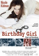 Birthday Girl - German Movie Poster (xs thumbnail)
