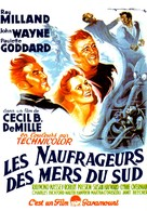 Reap the Wild Wind - French Movie Poster (xs thumbnail)