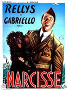 Narcisse - French Movie Poster (xs thumbnail)