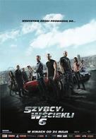 Furious 6 - Polish Movie Poster (xs thumbnail)