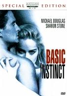 Basic Instinct - DVD cover (xs thumbnail)