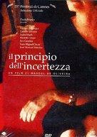 O Princípio da Incerteza - Italian DVD cover (xs thumbnail)