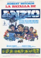 Anzio - Spanish Movie Poster (xs thumbnail)