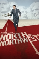 North by Northwest - DVD cover (xs thumbnail)