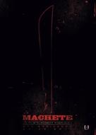 Machete - Italian Movie Poster (xs thumbnail)