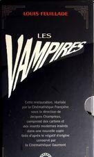 Les vampires - French VHS cover (xs thumbnail)