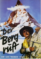 Der Berg ruft! - German Movie Poster (xs thumbnail)