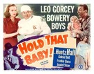 Hold That Baby! - Movie Poster (xs thumbnail)