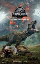 Jurassic World Fallen Kingdom - German Movie Poster (xs thumbnail)