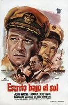 The Wings of Eagles - Spanish Movie Poster (xs thumbnail)