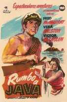 Fair Wind to Java - Spanish Movie Poster (xs thumbnail)