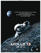 Apollo 18 - French Movie Poster (xs thumbnail)