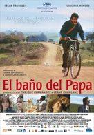El baño del Papa - Uruguayan Movie Poster (xs thumbnail)