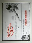 Les oiseaux vont mourir au Pérou - British Movie Poster (xs thumbnail)