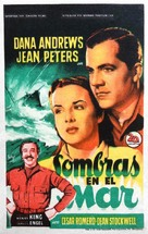 Deep Waters - Spanish Movie Poster (xs thumbnail)