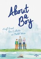 About a Boy - British DVD cover (xs thumbnail)