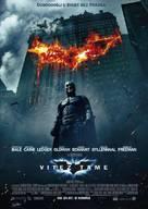 The Dark Knight - Croatian Movie Poster (xs thumbnail)