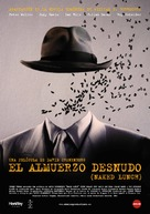 Naked Lunch - Spanish Movie Poster (xs thumbnail)