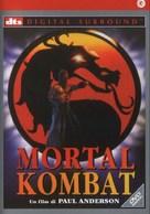 Mortal Kombat - Italian DVD cover (xs thumbnail)