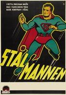 Superman - Swedish Movie Poster (xs thumbnail)