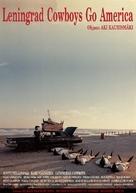 Leningrad Cowboys Go America - Finnish Movie Poster (xs thumbnail)