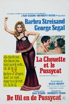 The Owl and the Pussycat - Belgian Movie Poster (xs thumbnail)