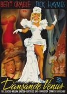 Diamond Horseshoe - Swedish Movie Poster (xs thumbnail)